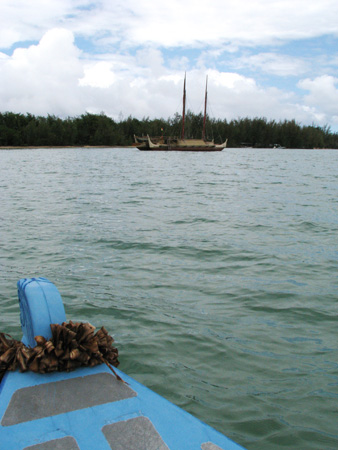 Hokulea-in-distance