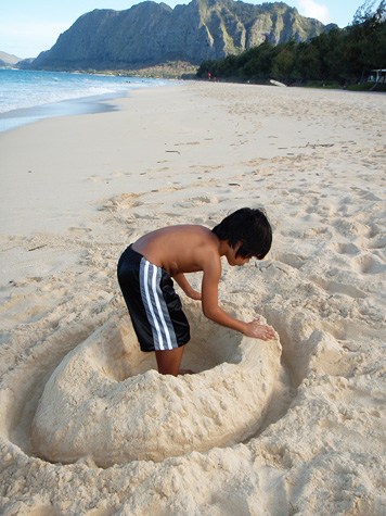 Sand-Donut