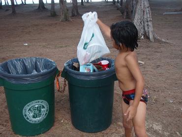 Dumping-trash