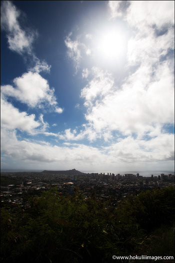 Blue-skies-over-Honolulu