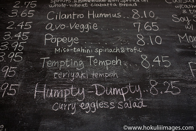 Humpty-Menu