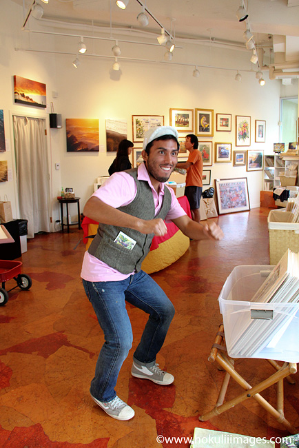 Ali-dancing